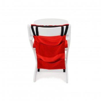 Карманы навесные на спинку стула бельмарко усура бордовые
