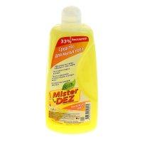 Cредство для мытья пола mister dez 1000 мл  лимон