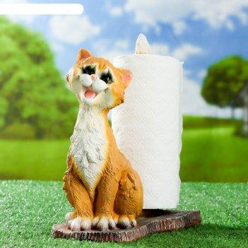 Подставка для бумажного полотенца кот 30х15х25см