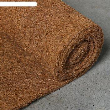Кокосовое полотно для мульчирования 0.2*1.5м, мульчаграм