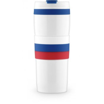 Кружка-термос  из нержавеющей стали с вакуумной  изоляцией tricolor mug 0,