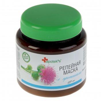Маска для волос apotek`s репейная с протеинами, 250мл