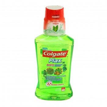 Ополаскиватель для полости рта colgate plax «кора дуба и пихта», 250 мл
