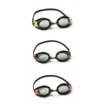 Очки для плавания фокус от 7лет в тубе 3 цв. в асс-те