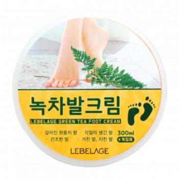 Крем для ног lebelage, с экстрактом зелёного чая, 300 мл