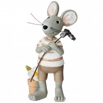 Фигурка мышки 5*4*10,5 см. без упаковки (мал=4шт./кор=144шт.)