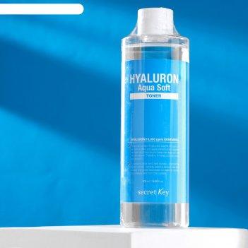 Secret key гиалуроновый тоник hyaluron aqua soft toner