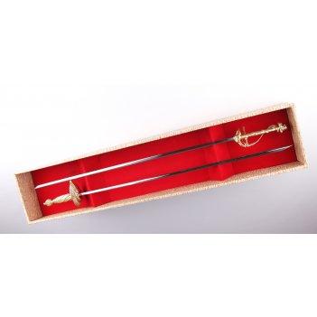 Шампура мушкетерские (2 шт.) в подарочной коробке