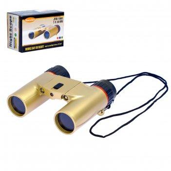 Бинокль шпион в пустыне, с фонариком