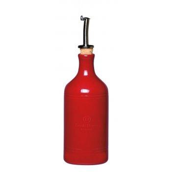 Бутылка для масла и уксуса 7,5 см (цвет: гранат) emile henry
