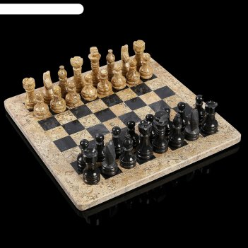 Шахматы «элит»,  доска 30х30 см, оникс