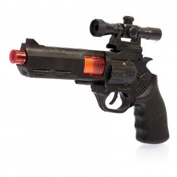 Пистолет-трещотка стрелок, с оптическим прицелом