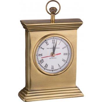 Часы настольные антик 16*5 см. диаметр=10 см высота=24 см. (кор=8шт.)