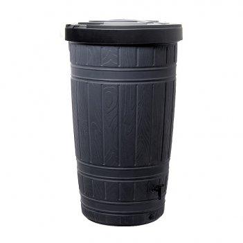 Водосборник prosperplast woodcan 265л, черный