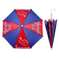 Зонт детский быстрее всех!, тачки, 8 спиц, d=51 см