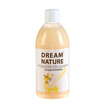 Пена для ванн dream nature  ваниль 1 л