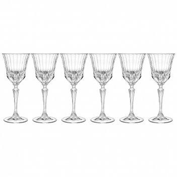 Набор бокалов для вина из 6 шт.адажио 250 мл.высота=20 см.