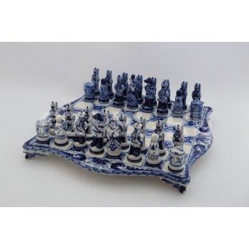 Шахматы 1812 год авт. гаранин ю.н. гжель