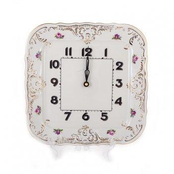 Часы квадратные 26см.бернадотт ивори