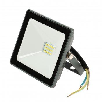 Прожектор светодиодный tdm народный сдо-04-020н, 20 вт, 4000 к, ip65, серы