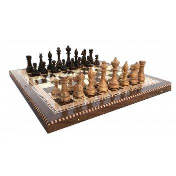 Шахматы турнирные-4 инкрустация 50, armenakyan