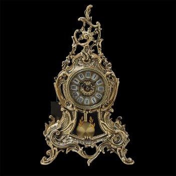 Часы  луиш xv с маятником каминные