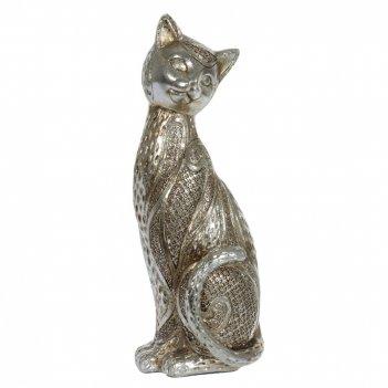 Фигурка декоративная кошка, l9 w8 h23 см