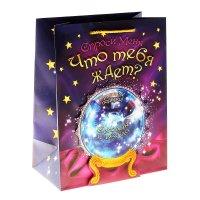 Пакет ламинат с открыткой (ламинация) магический шар
