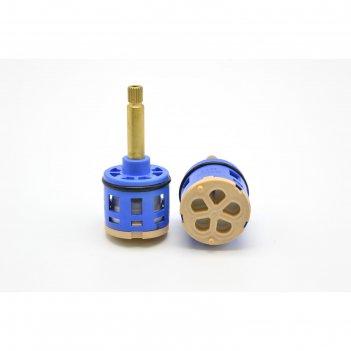 Картридж дивертора душ сити k5, для душевых кабин, d=36 мм, шток 40 мм, 5