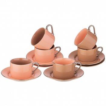 Чайный набор, 12 пр на 6 персон 220мл