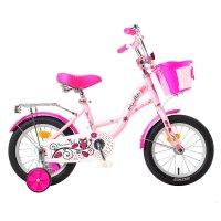 Велосипед 14 graffiti premium girl rus, цвет розовый