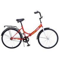 Велосипед 24 altair city 24, 2017, цвет красный, размер 16