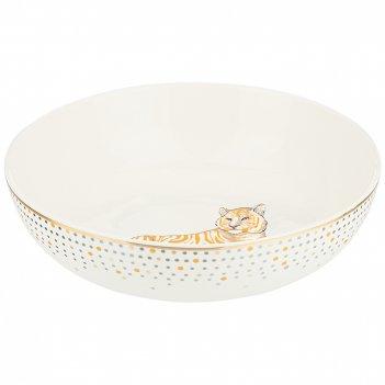 Салатник - тарелка суповая lefard top style 18 см 800 мл серый(кор=24шт.