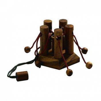 Головоломки деревянные клетка philos (германия) art 6127