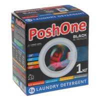 Стиральный порошок posh one black концентрат, 1000 гр