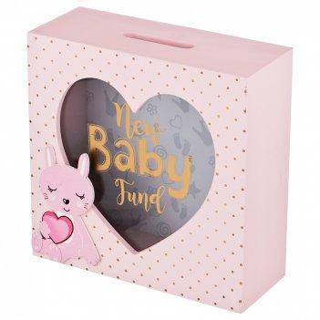 Копилка baby fund 18*18*7 см без упаковки (мал-4/кор=24 шт.)