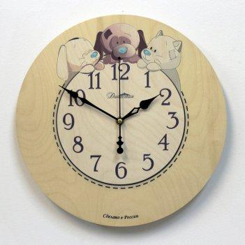 Настенные часы династия 02-024 друзья