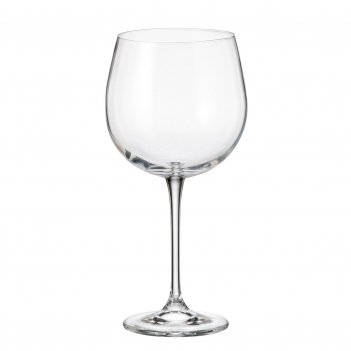 Набор бокалов для вина crystalite bohemia fulica 670 мл(6 шт)