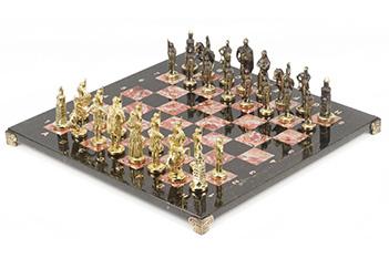 Шахматы русские бронза креноид 400х400 мм
