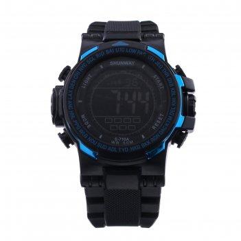 Часы наручные электронные shunway s-710a, d=4.5 см, микс