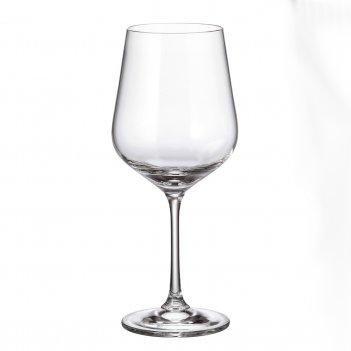 Набор бокалов для вина crystalite bohemia strix/dora 580 мл(6 шт)