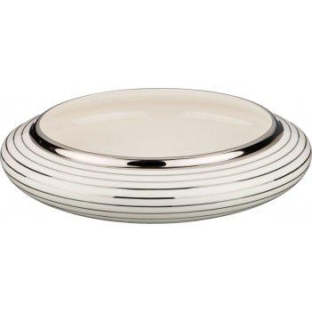 Декоративная чаша диаметр=36 см. высота=10 см. (кор=1шт.)