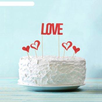 Набор для украшения торта love