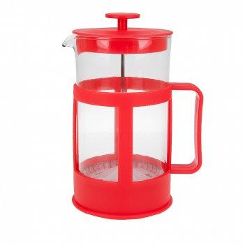 Кофейник (френч-пресс), v=1000мл. (4вида) (подарочная упаковка)