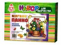 Аппликация азбука тойс апр-0002 корзинка с цветами