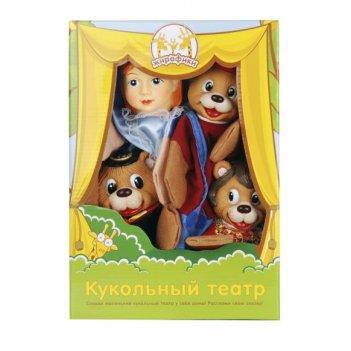 Кук. театр три медведя, 4 куклы