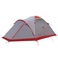 Tramp палатка mountain 4 (v2) серый