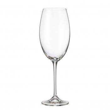 Набор бокалов для вина crystalite bohemia fulica 510 мл(6 шт)
