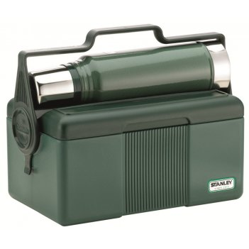 Изотермический контейнер с термосом stanley classic lunchbox cooler, 7l+1l