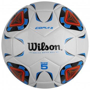 Мяч футб. wilson copia ii арт.wte9210xb05 р.5, 30п, гл.tpu, 1подкл. сл.,ма